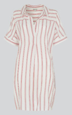 Whistles - Sabrina Stripe Shirt Dress - New With Tag - Size - XS - 6 - 8