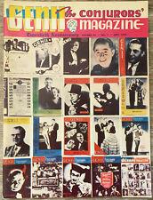 Genii Magic Magazine 1955 Twentieth Anniversary Issue