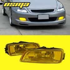 03-07 Honda Accord 4DR 04-08 Acura TL Yellow JDM Driving Bumper Fog Lights Lamps