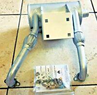 Genuine Exmark Muffler Kit, 135-2127, 126-8799  142-2899