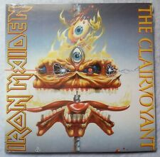 "Iron Maiden the Clairvoyant/the Prisoner (Live) Vinyl 7 "" 45 re Parlophone 2014"