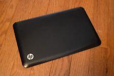 HP Mini 210-1000 LCD Display Top Back Cover Lid Black 589661-001 593489-001