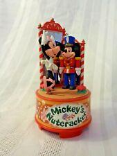 "Mickey & Co. Micky & Minnie Music Box ""Waltz of the Flowers"" Nutcracker New"