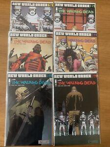 Walking Dead #175 -193 & The Alien - New World Order until the End