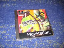 Playstation 1 - Ps1- Spiel -Oddworld Abe´s Exoddus - in Ovp + Anleitung Sammler