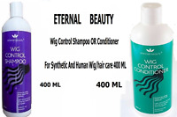 Wig Control Shampoo OR Conditioner for Synthetic And Human Wig/hair care 400 ML