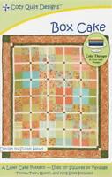 Box Cake Quilt Pattern - Cozy Quilt Designs