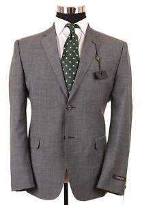 NWT Austin Reed Woven Gray Wool Mens Sport Coat Jacket Blazer 40 S NEW
