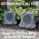IT Innovative technology Outdoor Rock Speaker Pair - Wireless Bluetooth Set