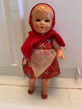 Vintage Plastic Celluloid Doll Sleep Eyes Michael Querzola 5�. Made In Italy.