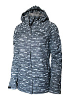 New $129 Womens The NORTH Face Novelty Venture full zip hooded rain jacket