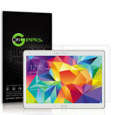 """CitiGeeks® Samsung Galaxy Tab S 10.5"""" Screen Protector Clear HD SM-T800 [6-Pack]"""