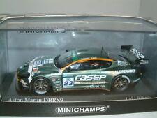 1/43 ASTON MARTIN DBRS9 2009 SPA FIA GT3 #23 ,ZANI/MUGELLI, MINICHAMPS LTD ED