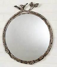 Decorative Vintage Rustic Farmhouse Bird on a Branch Wall Mirror.450045