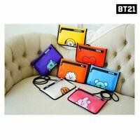 BTS BT21 Official Authentic Goods TP Cross Bag 275 x 190mm By Kumhong Fancy