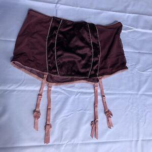 NWT 2008 Victoria's Secret SEXY LITTLE THINGS Satin Panel Garter Skirt Sz Large