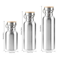 Stainless Steel Water Bottle Vacuum Insulated Metal Flask Gym-Sports Cup G9Z
