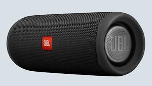 NEW JBL FLIP 5 Portable Bluetooth Speaker - Black