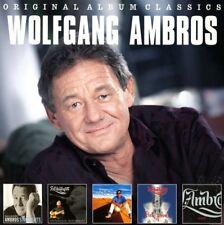 WOLFGANG AMBROS - ORIGINAL ALBUM CLASSICS  5 CD NEW+
