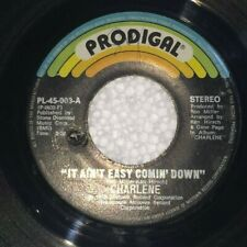 """CHARLENE It Ain't Easy Comin' Down / On My Way to You PHILIPPINES 7"""" 45 RPM"""