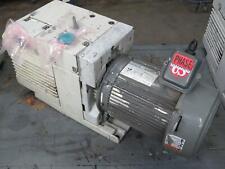 New Listingleybold D40b Dual Stage Rotary Vane Vacuum Pump W Motor T171075