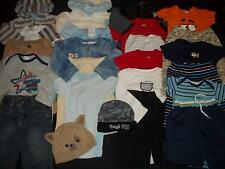 24 Baby Boys 3-6M 6-9M Fall Winter Clothes Outfit Lot 3 6 9 Months FREE SHIPPING