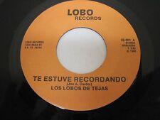 LOS LOBOS DE JEJAS on LOBO Records San Antonio TEXAS