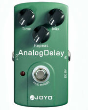 Joyo JF-33 Green Analog Delay Electric Guitar Effect Pedal True Bypass+Free Ship