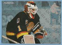 Kirk McLean 1994-95 Fleer Netminders insert #6 Vancouver Canucks