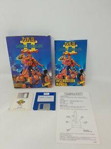 """Double Dragon II The Revenge Commodore Amiga Game in Box w/ Manual 3.5"""" Virgin"""