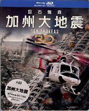 San Andreas (2015) Limited Edition SteelBook 3D + 2D (Region Free Taiwan Import)