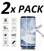 2 Case Friendly Tempered Glass Screen Protector For Samsung Galaxy Note 10 S10 +