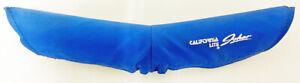 Old School BMX California Lite by Johar V-Bar Handlebar Pad, Blue - NOS