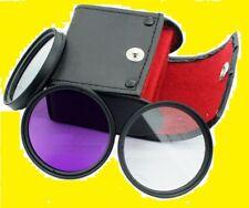 FILTER KIT 55mm CPL UV FLD (Polarized C-PL,Fluorescent Daylight , Ultra-violet)