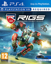 Rigs Mechanized Combat League (VR Required) PS4 Playstation 4 IT IMPORT