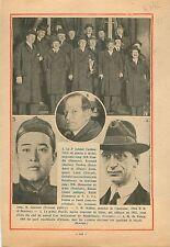 Gouvernement André Tardieu Flandin Paul Reynaud Pierre Laval 1932 ILLUSTRATION