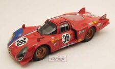 Alfa Roemo 33.2 Le Mans 1969 #36 1:43 Best Model Be9351 Modellino Auto Diecast