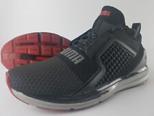 Puma Ignite Limitless Hi-Tech Shoes Men's Size 9 Black Silver 3M 190155-01 NEW