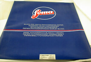 "30x Foto-Papier photo paper FOMATONE MG Classic 131 warm tone glossy 20x24"" /20"