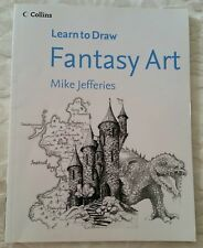LEARN TO DRAW FANTASY ART ~ MIKE JEFFERIES