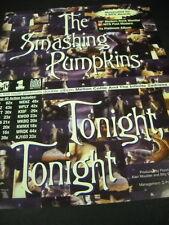 SMASHING PUMPKINS ongoing success of TONIGHT TONIGHT 1996 Promo Trade Advert