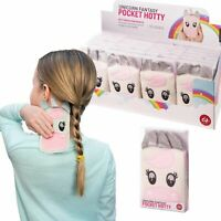 POCKET HOTTY - Unicorn Soft Touch Case Pocket Reusable Hand Warmer **FREE DELIVE
