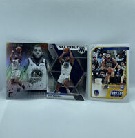 2019 Panini ERIC PASCHALL LOT x3 Rookie Card RC Golden State Warriors - NM
