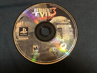 Resident Evil 3: Nemesis (PlayStation 1, 1999) PS1 Disc Only - TESTED WORKS!!!
