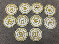 Masonic Craft Provincial Apron Badges
