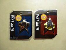 Star Trek Next Generation & Voyager Communicator Replica Badge Quantum Mechanix