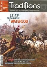 TRADITION N°05 LE 52e BRITANNIQUE A WATERLOO / QUEBEC 1690 / L'AEROSTIER /GOHRDE