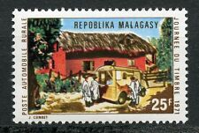 STAMP / TIMBRE DE MADAGASCAR NEUF N° 488 ** JOURNEE DU TIMBRE 1971 POSTE RURALE