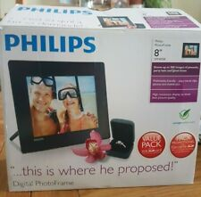 Philips 8'' Photo frame SPF4008 with 2gb SD card