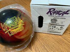 Radical Katana Legend bowling ball 16 LB NIB!